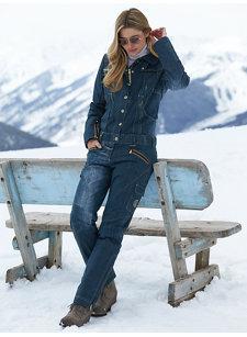 madis jean ski suit