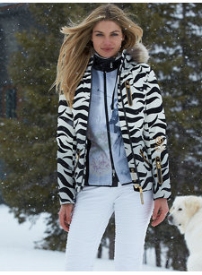 nell-dp flame jacket with fur