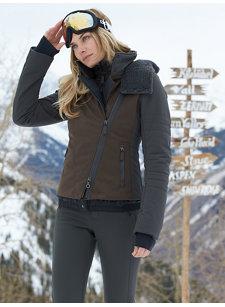 mercedes fur hood jacket