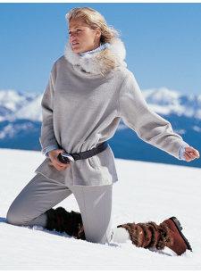 snowcat pullover parka