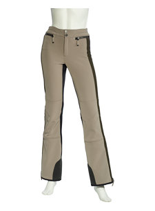 delphine tri-color stretch ski pant