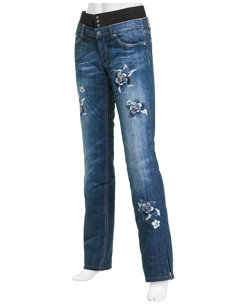 malena jeans floral insulated ski pant