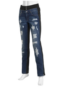 janis blue jeans insulated ski pant