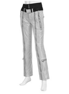 zippa silver insulated ski pant