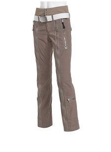 zippa waxed insulated ski pant