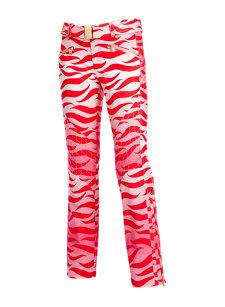franzi flame pink insulated ski pant