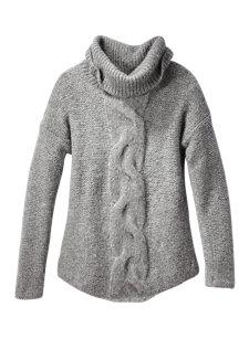 sadie cable turtleneck sweater
