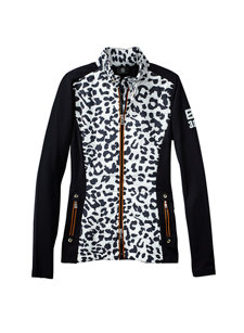 ariane leopard fleece