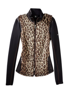 grit leopard fleece