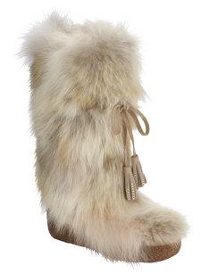 nu foxy swarovski white boot