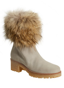 janette fur trim boot