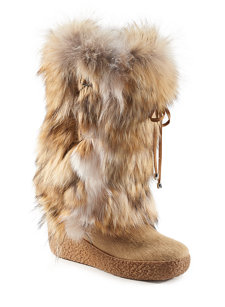 melinda fur boot