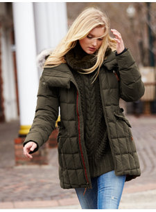 carly down coat