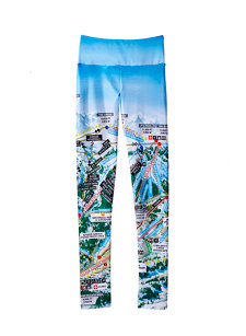 mountain map legging