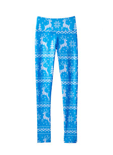 blue reindeer legging