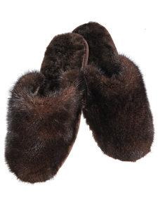 mink slipper