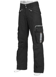 arvin black insulated ski pant