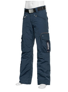 arvin navy insulated ski pant