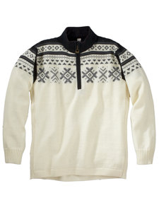 dovre 1/4 zip sweater