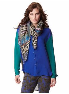 lelia silk shirt