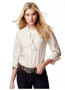 lagoona ruffle shirt
