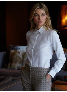 mara jacquard shirt