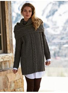 gstaad sweater & shrug