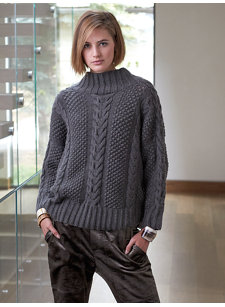 gstaad short sweater