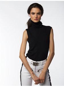 matia sleeveless t-neck