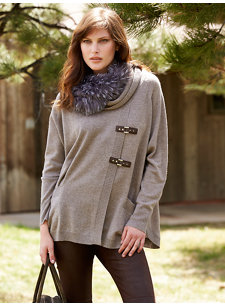 remi buckle sweater