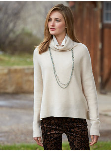 andie cowl sweater