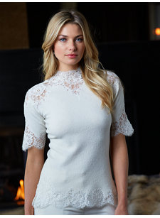 elisabeta lace top