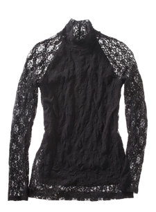 bailey lace t-neck