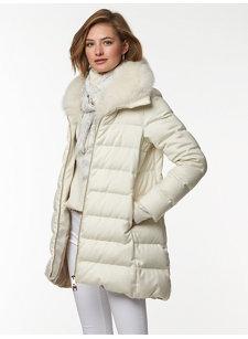 uma cashmere silk coat