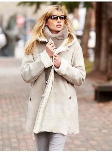 aveline shearling coat
