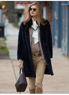 rochelle navy coat