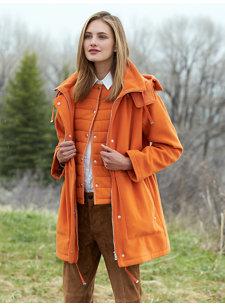 tiana orange jacket