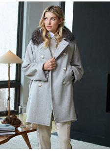 look 3 grey coat