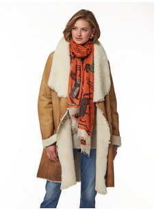 peyton shearling coat