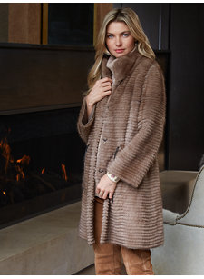 ainsley mink coat