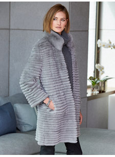 rochelle platinum coat