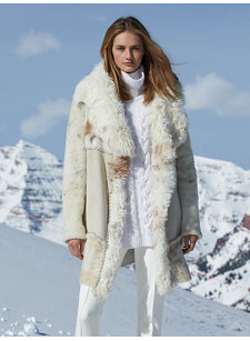 portia shearling coat