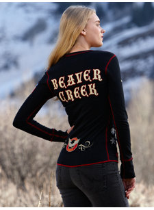 reversible beaver creek t-shirt