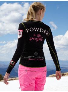 ski resort snowrider t-shirt