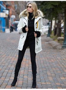 skinny knit jean