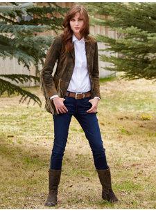 skinny rich dark blue jean