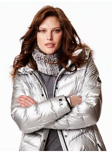 lorie frosted neck warmer