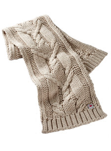 luxe cable scarf