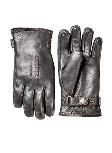 deerskin lamb glove black