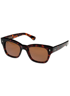 brera dark turtle sunglasses